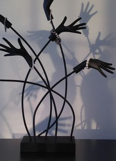 shadow play with window hands
