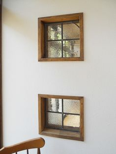 Interior Windows, Interior And Exterior, Interior Design, House Windows, Windows And Doors, Glass Blocks Wall, Glass Brick, Office Walls, Ideal Home