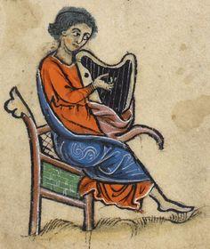 Psalter, Use of Sarum ('The Rutland Psalter') Date c 1260 Add MS 62925 Folio 50r