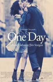 One Day   romantic movie : After spending the night together on the night of their college graduation Dexter and Em are shown each year on the same date to see where they are in their lives. They are sometimes together, sometimes not, on that day.