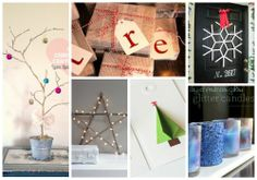 Homemade gift tags using UL letters made in the My Design Suite http://beinspired.uppercaseliving.net