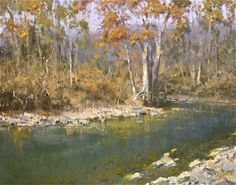 Roger Dale Brown  Autumn Brook  22X28 in.