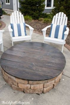 Firepit or a table? Both!