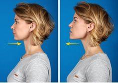 7 esercizi efficaci per sbarazzarsi dell'indesiderato doppio mento ⋆