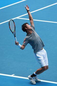 Kei Nishikori Photos - 2015 Australian Open - Previews - Zimbio