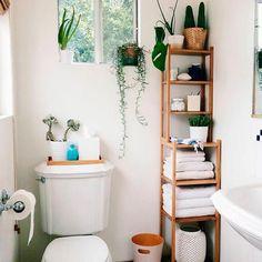 Decoração criativa para banheiro pequeno <3 #Inspiração