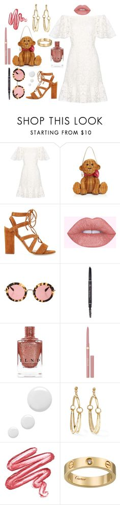 """Think of yourself as a beautiful lil' monkey 🐒"" by theodor44444 ❤ liked on Polyvore featuring Valentino, Kate Spade, Miu Miu, Anastasia Beverly Hills, Stila, Topshop, Chloé and Lime Crime"