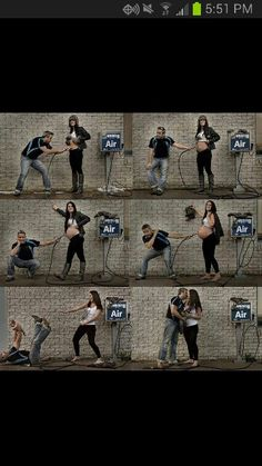 Cutest pregnancy photo collection ever! (;