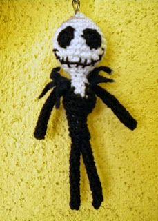 Mis amigurumis: Jack Skeleton