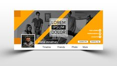 Multipurpose Business Facebok Cover Design Facebook Cover Photo Template, Facebook Cover Design, Free Facebook, Friend Photos, Cover Photos, Lorem Ipsum, Improve Yourself, How To Make Money, Photoshop