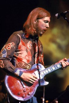 """""""Duane Allman, The Allman Brothers Band, the last nights of the Fillmore East, June 1971, by Amalie R. Rothschild. """""""