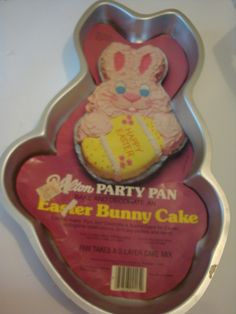 Wilton Easter Bunny with Egg / Peter Rabbit / Thanksgiving Indian Cake Pan (502-1913, 1979) Retired *** For more information, visit : Baking pans
