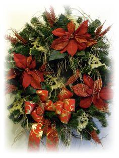 swags wreaths christmas   Christmas Wreaths   Christmas Door Wreaths   Christmas Swags   Sugar ...