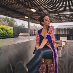 long kimono.  pink floral and purple border.  free size.  R850    #umisaltrock #localzadesign #southafricandesign #ethicalfashion #slowfashion #bohemianstyle #bohemian #fashiondiaries #summerstyle #kaftan #kimono #sari #lookbook #fashionista #resortwear #streetstyle #style #fashion    @gerritvanzyl   @carolyn_warren