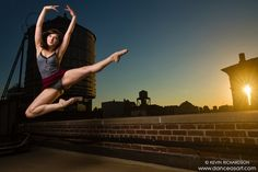 New York City Rooftop Dance As Art Photography Project- featuring dancer, Chelsea Victoria Polson