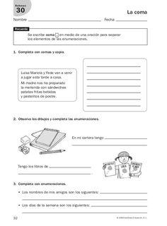 Lengua repaso y ampliación 3º primaria Santillana Spanish Class, Teaching Spanish, Grammar Book, Homeschool, Classroom, Teacher, Education, Learning, Google