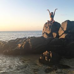 Climbed a big rock, sat cross-legged, looked at the clear blue water below me, and raised my arms high because I am SO GRATEFUL. So grateful for my friends, my family, my opportunities, my experiences, and the  that surrounds me. When you radiate genuine positivity, you attract people who are like-minded and kind-hearted! Keeping being beautiful, vibrant, sparkly souls POPsters. I  you so much.