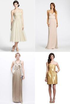 Quick: Which of these gold dresses would you pick for your #bridesmaids? See more: http://www.amilone.com/index.php?route=product/category&path=7596