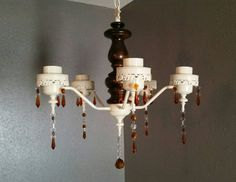 Amber crystals, vintage light fixture, Gothic light fixture, medieval light fixture https://www.etsy.com/listing/265505703/crystal-chandelier-light-fixture-shabby