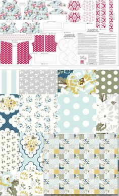 Wiltshire Daisy by Carina Gardner for Riley Blake Designs #rileyblakedesigns #wiltshiredaisy #carinagardner