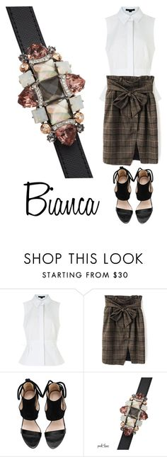 """""""Bianca"""" by parklanejewelry on Polyvore featuring Alexander Wang"""