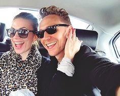 Tom & Hayley Atwell..these two <3