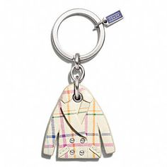 Coach Keychains for Women at Coach.com..Too cute!