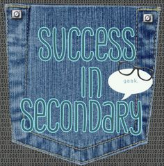 Success In Secondary Linky party- come check out all the great resources specifically for SECONDARY teachers! And link up some I your own!