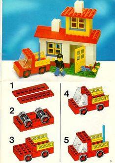 Old LEGO® Instructions   letsbuilditagain.com More