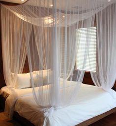 Chic Boutique Suite Bedroom Hospitality Interior Design of Cardozo Hotel, South Beach, Miami