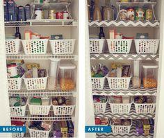17 wire shelf makeover pinterest shelves kitchens and rh pinterest com wire shelves pantry wire pantry shelves sagging