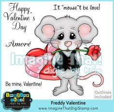 Freddy Mouse in Love