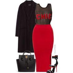 Chic by efiaeemnxo on Polyvore featuring polyvore fashion style Zara Giuseppe Zanotti Michael Kors