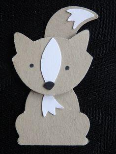 Fox Builder Punch challenge dag 3: Wolf https://www.facebook.com/Lysettes.stampin.universe/photos/?tab=album&album_id=1171149086239508