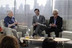 3 of my favourite men - Jon Hamm and John Slattery John Slattery, Anderson Cooper, Jon Hamm, Mad Men, March, Friday, Random, Casual, Mac