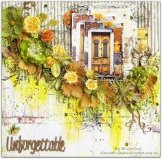 My DT layout for February 2015 Scrap Around the World challenge. My blog..... discreativespace.blogspot.com.au