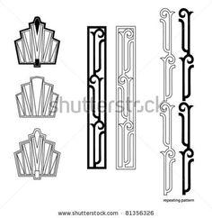 stock-vector-art-deco-design-elements-81356326.jpg 450×463 pixels