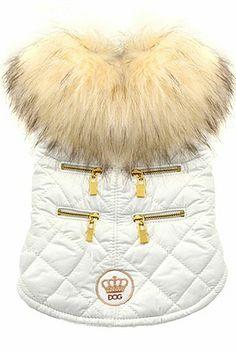 Coco Quilt Dog Coat