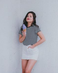Emma Verde, White Shorts, Youtubers, Instagram, Women, Fashion, Pictures, Outfit, Moda