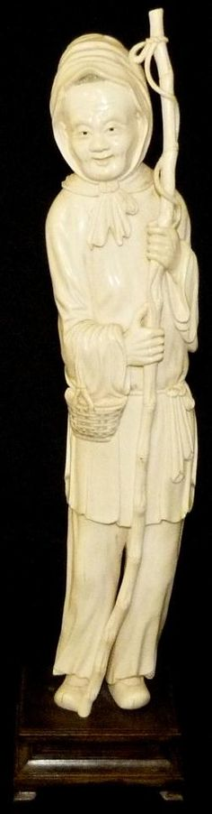 hand carved Ivory