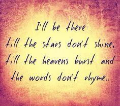 You know when I die, you'll be on my mind. And I love you always... Always Lyrics, Love Songs Lyrics, Lyrics To Live By, Cool Lyrics, Song Quotes, Music Songs, Music Quotes, Music Lyrics, Bon Jovi Song