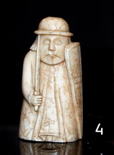 Lewis Chessmen: Warder | Flickr - Photo Sharing!