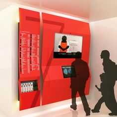 Wayfinding Signage, Signage Design, Museum Exhibition Design, Red Studio, Directional Signs, Hostel, Shopping Mall, Display, Instagram