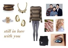 """""""Still In Love With You by Jonas Brothers"""" by ocean-goddess ❤ liked on Polyvore featuring Eleventy, Frye, Moschino, NEST Jewelry and Dorothy Perkins"""