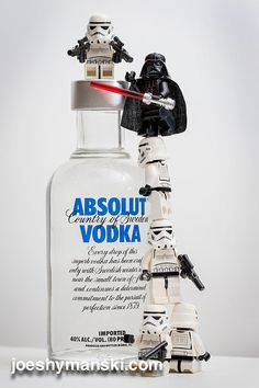 How many stormtroopers does it take to open a bottle of vodka?