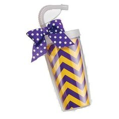 Game Day Tumbler - Purple and Gold