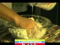 PANDEBONOS COLOMBIANOS PREPARACION