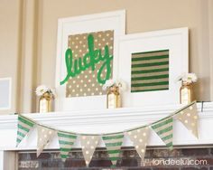 St. patrick's Day decorations