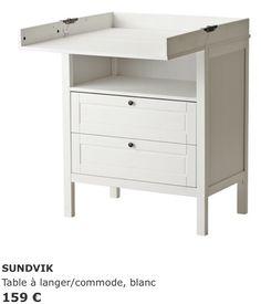 Table à langer - Ikea