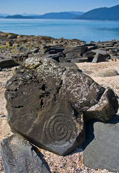Petroglyph Beach, Wrangell, Alaska...lived in Wrangell for about 2 years... Miss this place